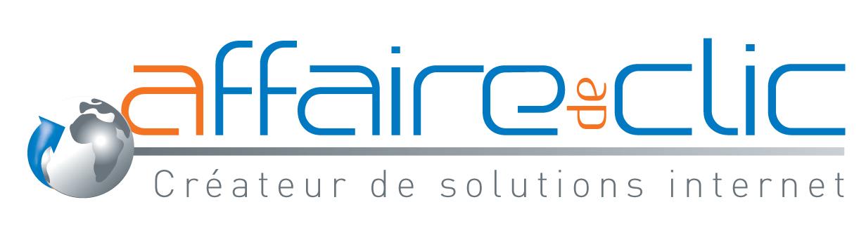 Agence Web Affaire de clic Logo